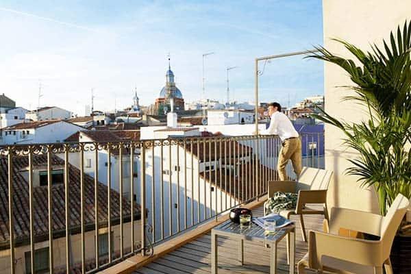 Eric Vökel Boutique Apartments - Madrid Suites Terrace