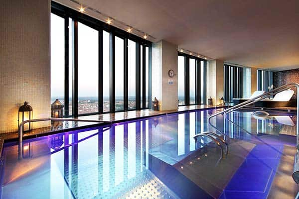 Eurostars Madrid Tower Indoor Pool