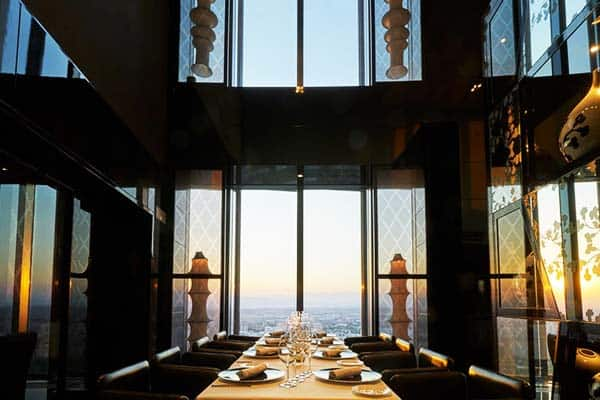 Eurostars Madrid Tower Restaurant