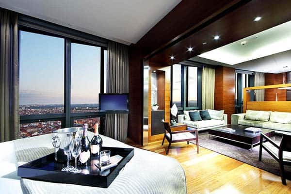 Eurostars Madrid Tower Room