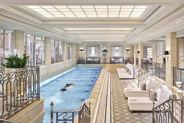 Four Seasons Hotel George V Paris Indoor Pool