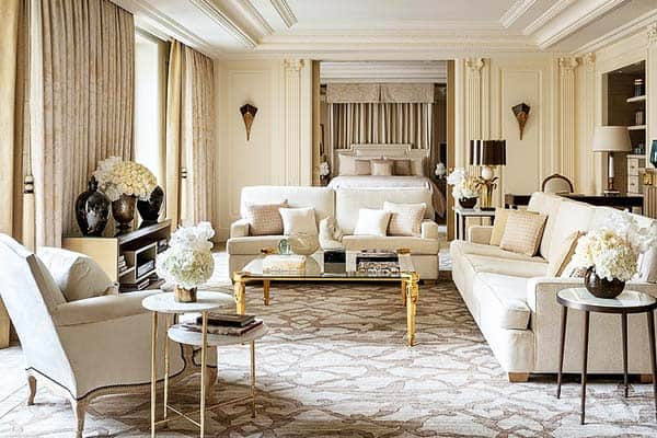 Four Seasons Hotel George V Paris Room