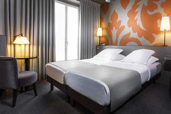 Gardette Park Hotel Room