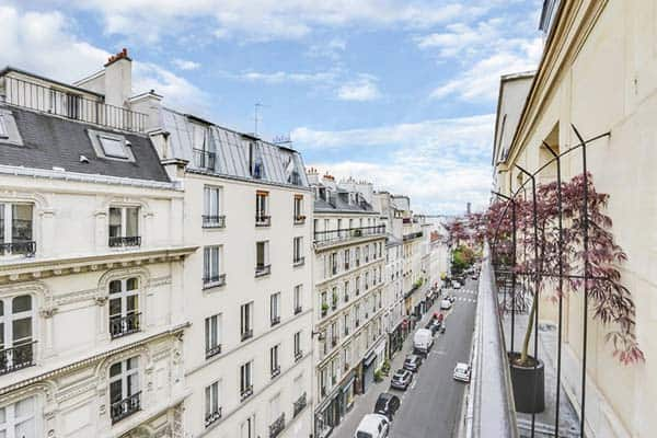 Grand Pigalle Paris Terrace View