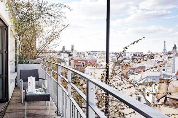 Holiday Inn Paris Notre Dame Terrace View