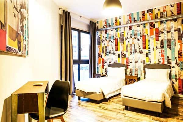 Hostel Trastevere Rome Room