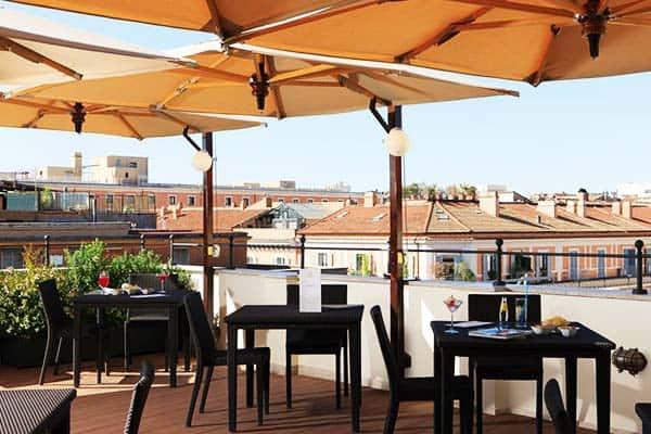 Hotel Artemide Room Rooftop Restaurant