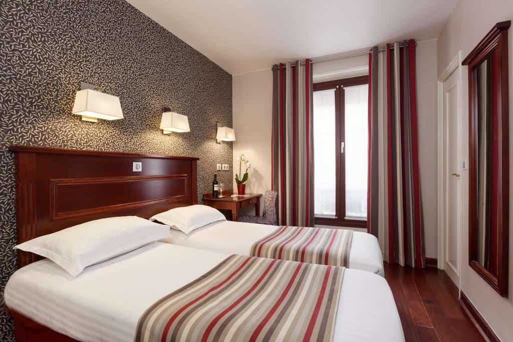 Hotel Eiffel Rive Gauche Paris Room