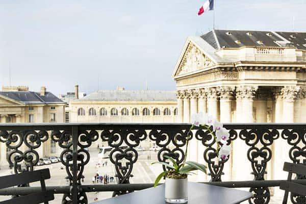 Hôtel Les Dames du Panthéon Terrace View