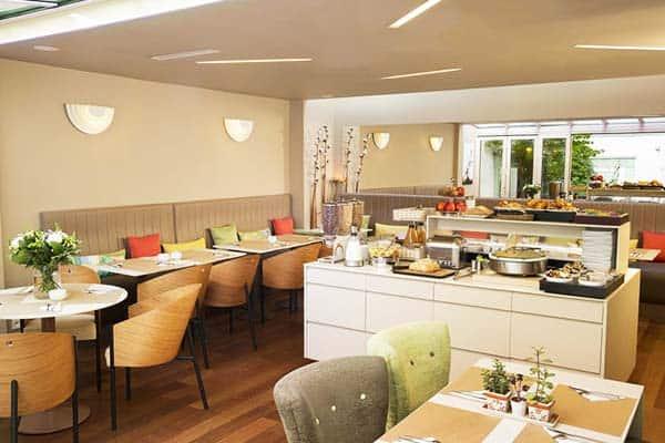 Hotel Mistral Paris Breakfast Room