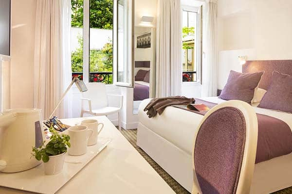 Hotel Mistral Paris Room