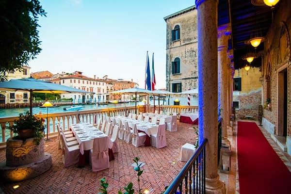 Hotel Palazzo Stern Venice Restaurant