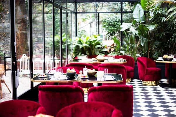 Hotel Particulier Montmartre Paris Restaurant