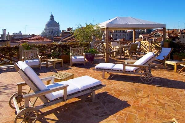 Hotel Saturnia And International Venice Rooftop Terrace