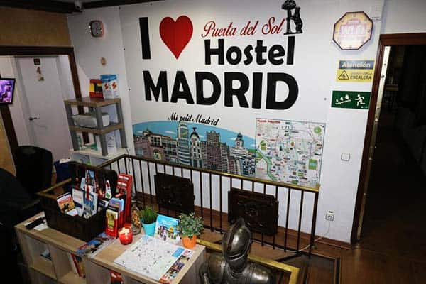 I love Madrid Hostel Reception