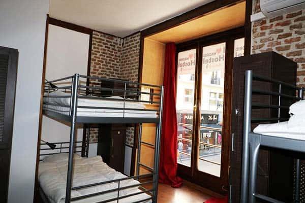 I love Madrid Hostel Room