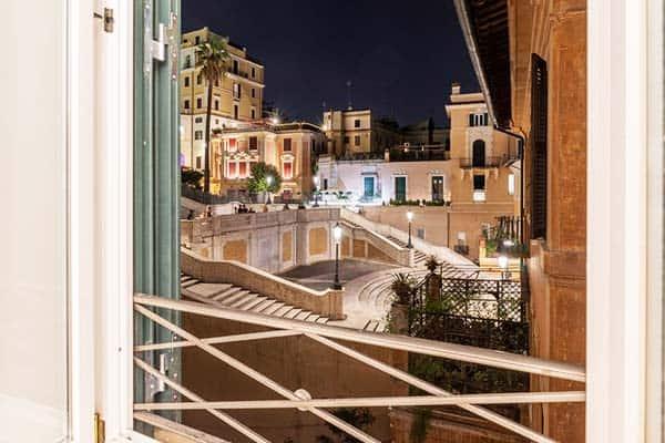 Internazionale Domus Rome Window View