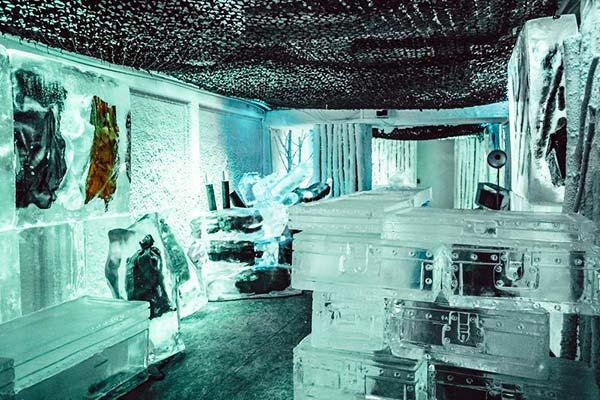 Kube Hotel Paris Ice Bar