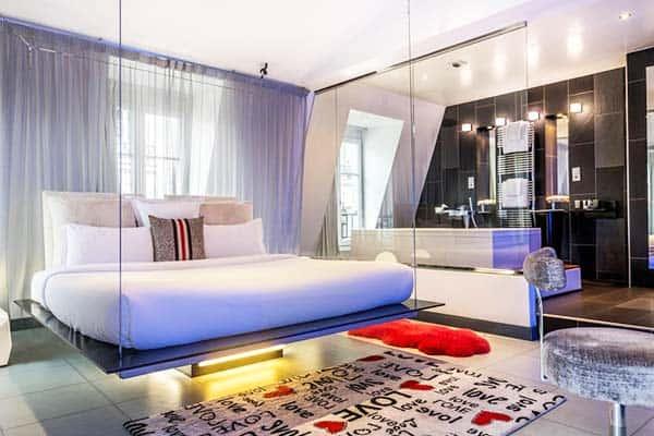 Kube Hotel Paris Room