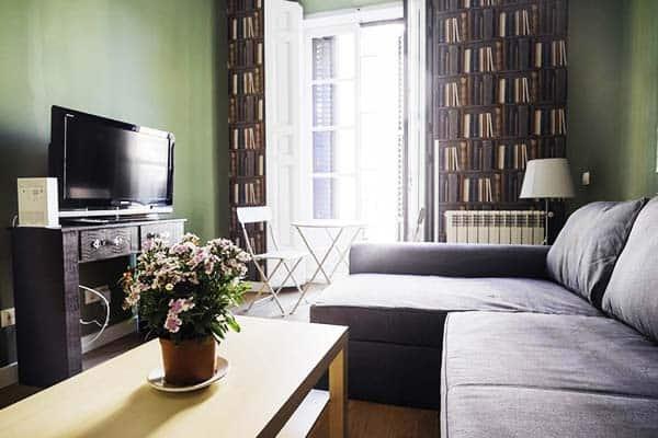 La Latina Apartment Madrid Living Area