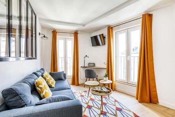 Le Matissia Paris Living Area