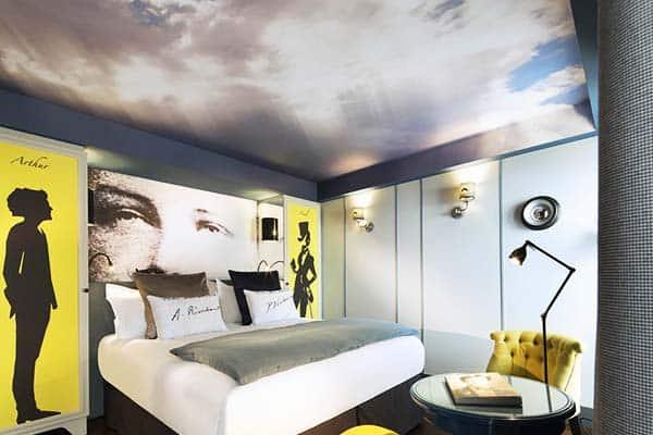 Les Plumes Hotel Paris Room