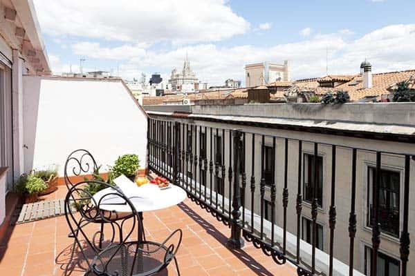 Mayor Centro Apartments Madrid Terrace