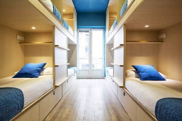 MOLA Hostel Madrid Room
