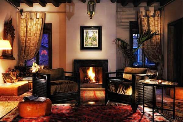 Novecento Boutique Hotel Venice Fireplace