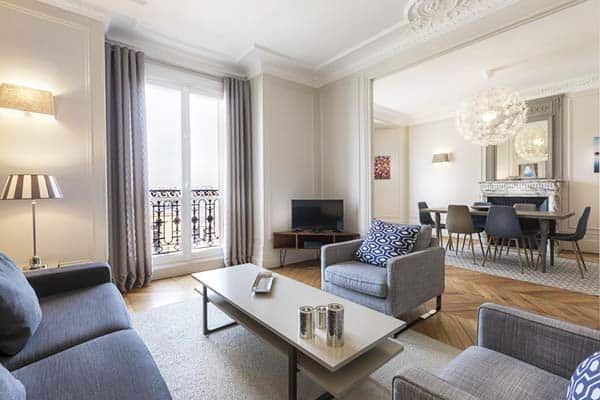 Residence Charles Floquet Paris Living Area