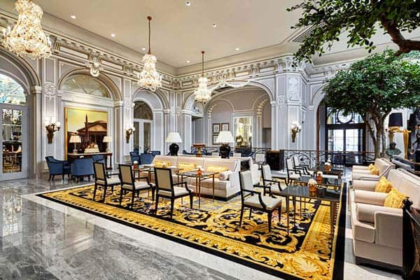 The St. Regis Rome Lobby