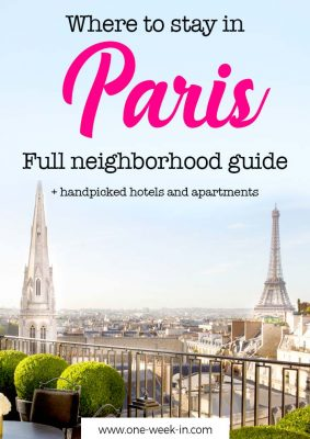 Where to Stay in Paris for a First Time Visit? An Insider's Guide