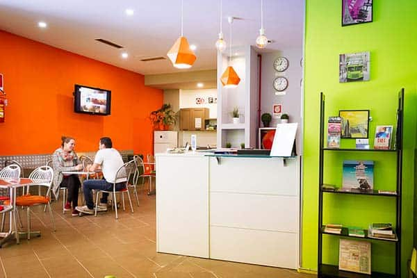 Youth Station Hostel Rome Common Area