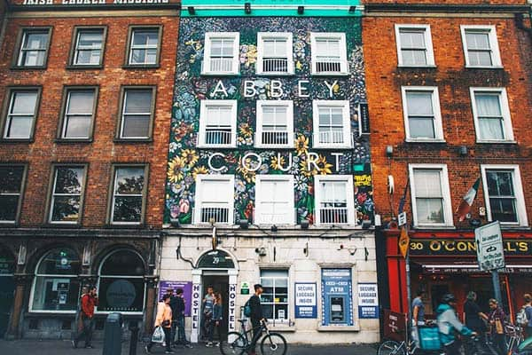 Abbey Court Hostel Dublin Exterior