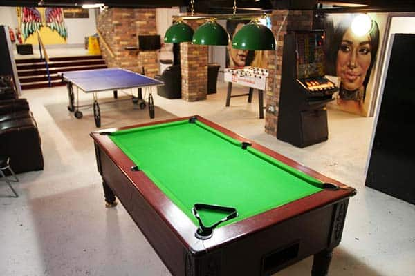 Abbey Court Hostel Dublin Games Room