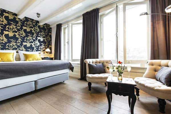 Canal Boutique Rooms & Apartments Amsterdam Room