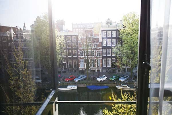 Canal House Amsterdam Window View