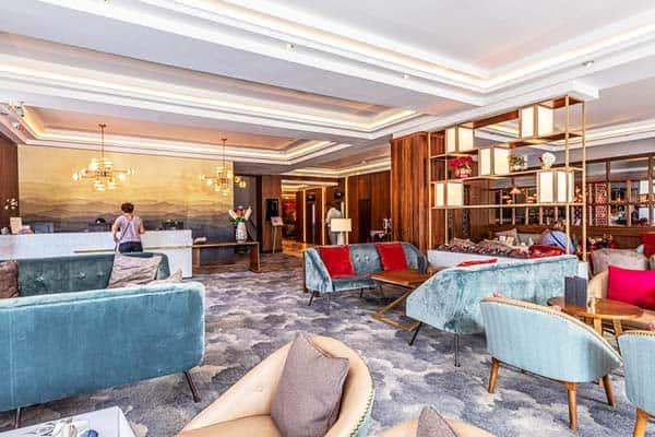 Dublin Skylon Hotel Lobby
