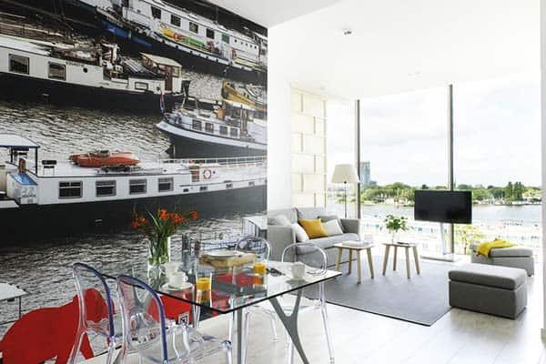 Eric Vokel Boutique Apartments Amsterdam Suites Common Area