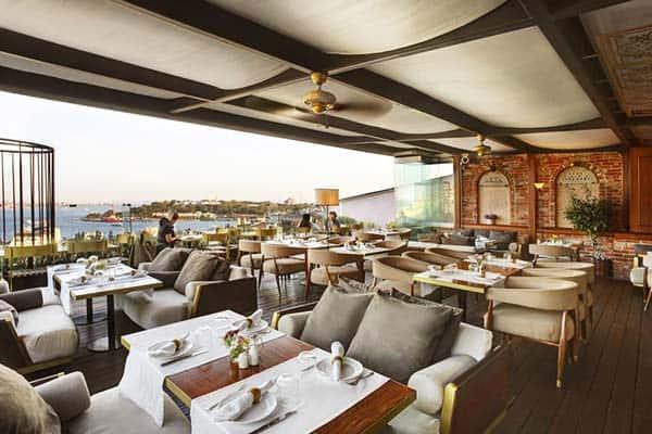 Georges Hotel Galata Restaurant