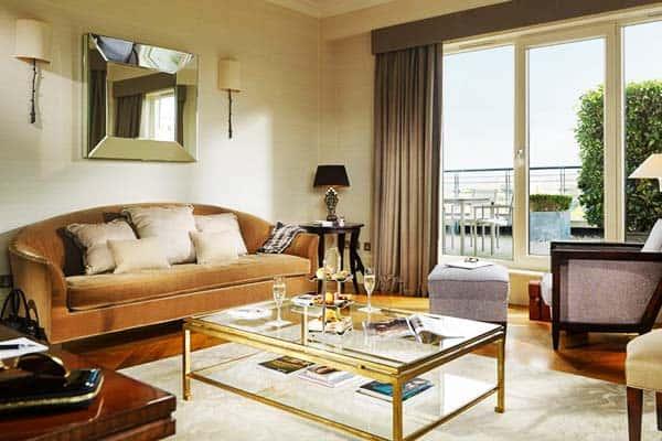 Herbert Park Hotel Dublin Living Area
