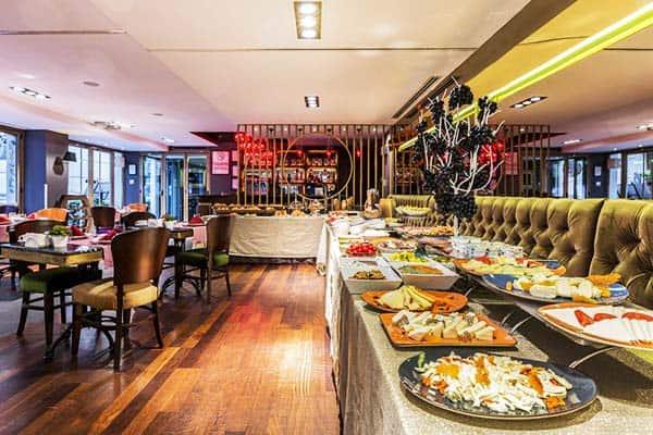 Hotel Sultania Boutique Class Breakfast Buffet