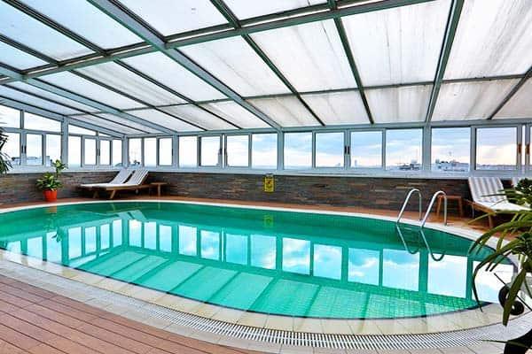 Hotel Zurich Istanbul Indoor Pool