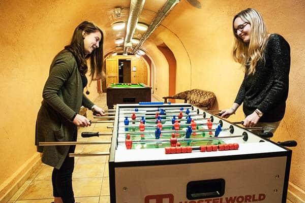 Isaacs Hotel Dublin Games Room