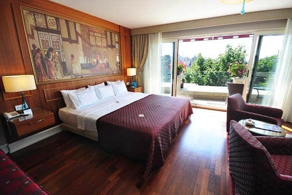 Neorion Hotel Istanbul Room