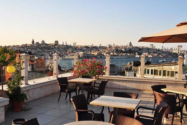 Neorion Hotel Istanbul Terrace
