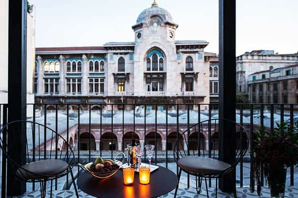 Regie Ottoman Istanbul Terrace