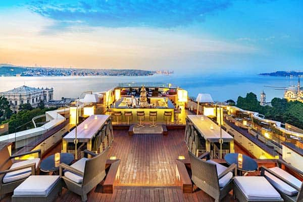 Swissotel The Bosphorus Istanbul Rooftop Bar