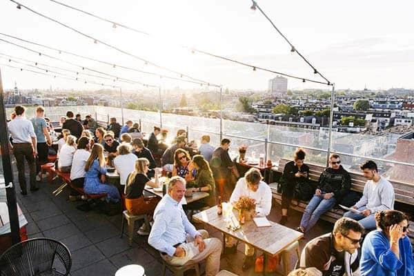 Volkshotel Amsterdam Rooftop Bar