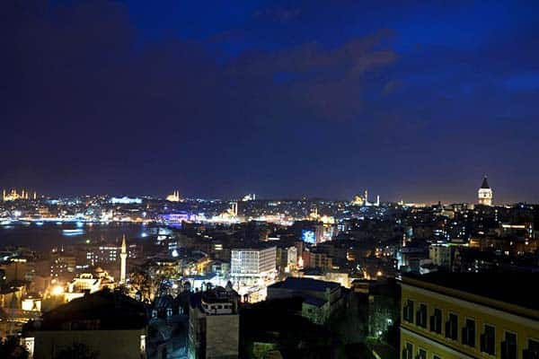 Witt Istanbul Suites Night View